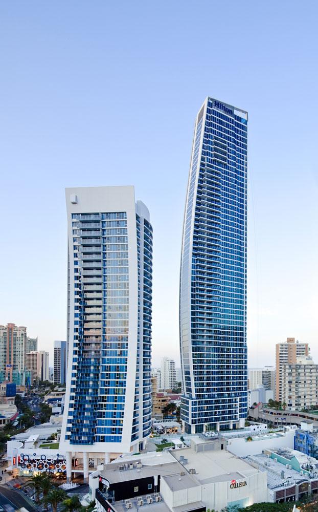 Hilton towers surfers paradise