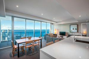 Ocean View Hilton Apartment Gold Coast