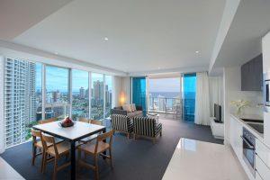 Luxury 2 bedroom holiday apartment surfers paradise